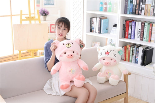 Cute Pig Stuffe Plush Doll  Soft  Pillow