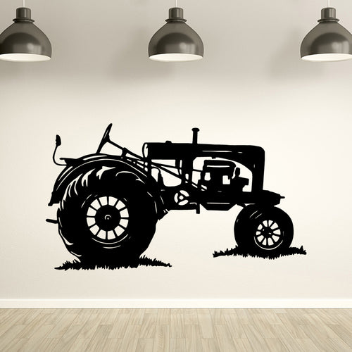 Tractor Wall Decal Stickers Home Decor
