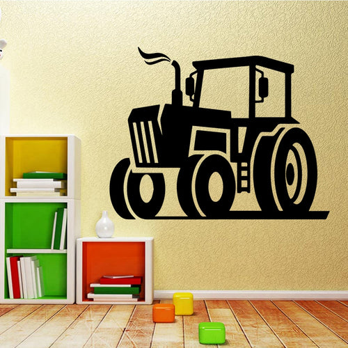 Tractor Vinyl Decals Wall Stickers home decor