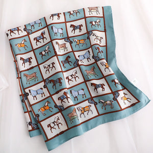 Fashion design horse carriage scarf soft headband 002