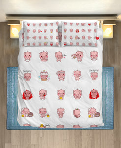 Bedding Set - Pig Lovers