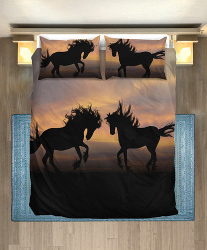 Bedding Set - Horse Lovers 01