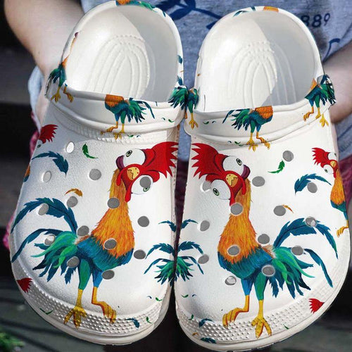 Funny Chicken Croc Clog Unisex Fashion Style For Women, Men Funny Chicken Croc Clog Unisex Fashion Style For Women, Men - Vegamart.com