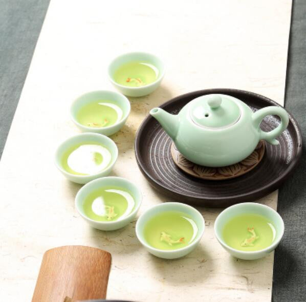 Kungfu Tea Set, 6 cups