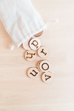 Alphabet Letter Coins - Letter Manipulatives - Educational Game - Montessori - Homeschool - Preschool Learning - Uppercase - Lowercase
