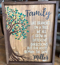 Family Like Branches on a Tree - Sawdust & Swirls