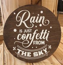 Rain Is Just Confetti From the Sky - Sawdust & Swirls
