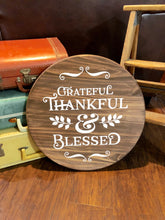 Grateful Thankful & Blessed 2 - Sawdust & Swirls