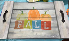 Fall Blocks - Sawdust & Swirls
