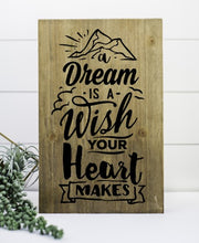 A Dream Is a Wish - Sawdust & Swirls