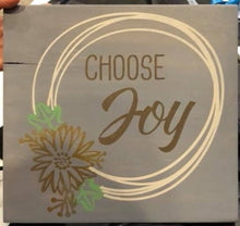 Choose Joy - Sawdust & Swirls