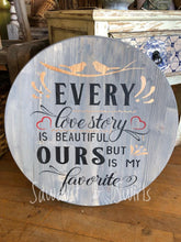 Every Love Story - Sawdust & Swirls