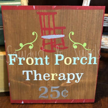 Front Porch Therapy - Sawdust & Swirls
