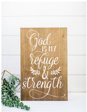 God Is My Refuge & Strength - Sawdust & Swirls