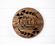 His Grace Is Enough - Sawdust & Swirls