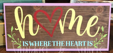Home Is Where the Heart Is - Sawdust & Swirls