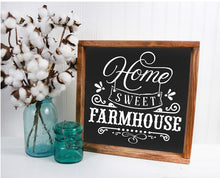 Home Sweet Farmhouse - Sawdust & Swirls
