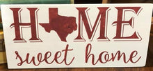 Texas Home Sweet Home - Sawdust & Swirls