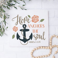 Hope Anchors The Soul - Sawdust & Swirls