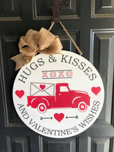 Hugs & Kisses Valentine's Wishes - Sawdust & Swirls