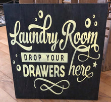 Laundry Room Drop Your Drawers Here - Sawdust & Swirls