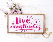 Live Creatively - Sawdust & Swirls
