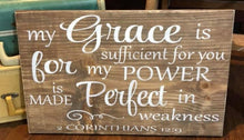 My Grace Is Sufficient For You - Sawdust & Swirls