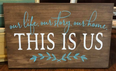 Our Life. Our Story. Our Home - Sawdust & Swirls