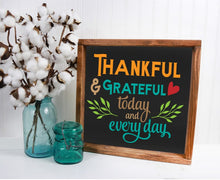Thankful & Grateful - Sawdust & Swirls