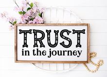Trust The Journey - Sawdust & Swirls