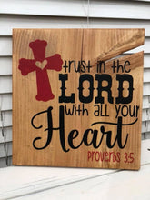 Trust In The Lord With All Your Heart - Sawdust & Swirls