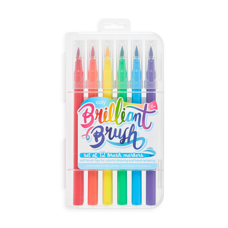 Brilliant Brush Set of 12 Markers
