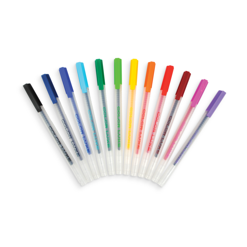 Color Luxe Set of 12 Gel Pens