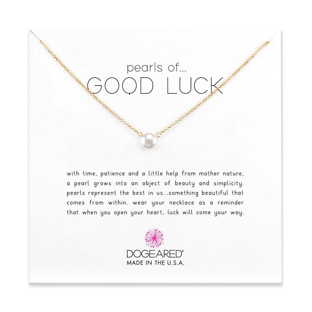 Pearls Of Good Luck Necklace Gold