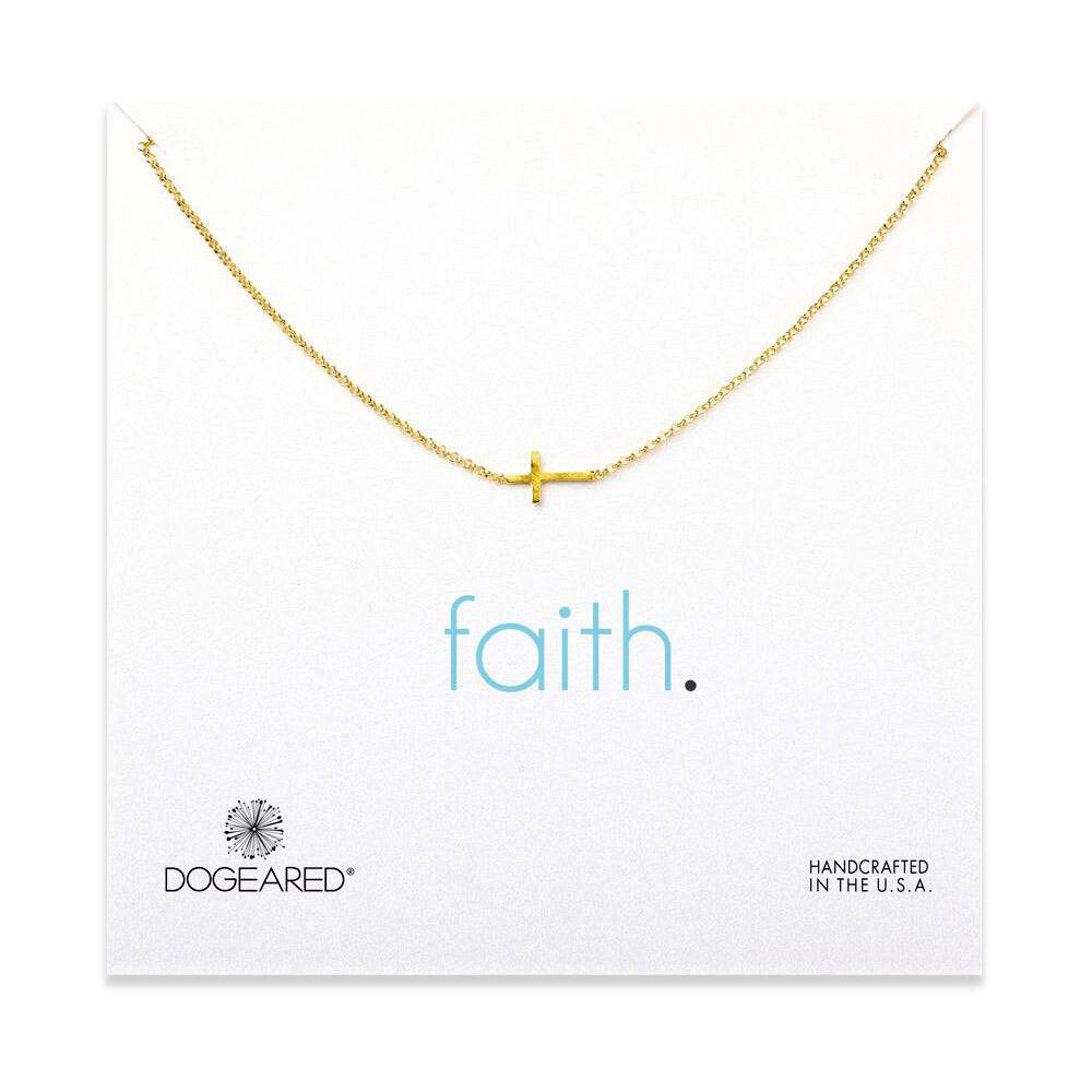 Faith Gold Necklace