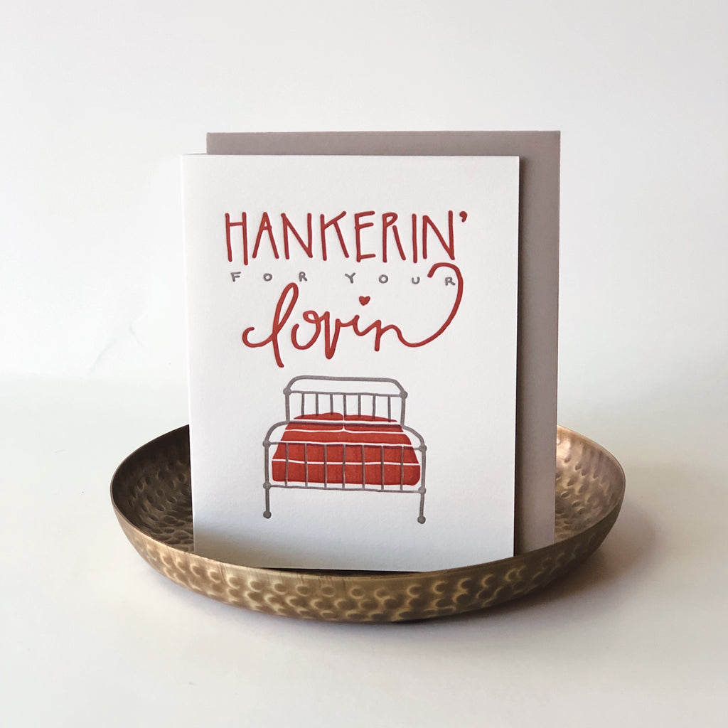 Hankerin' For Your Lovin Card