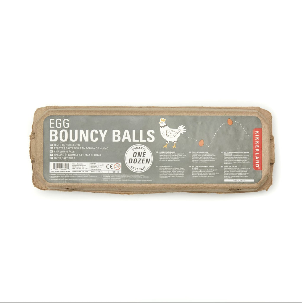Egg Bouncy Ball