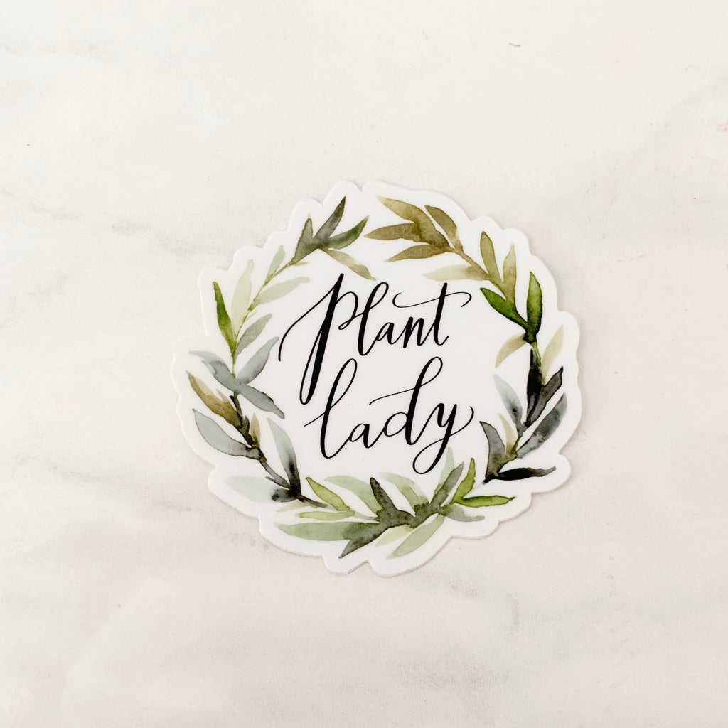 Plant Lady Sticker