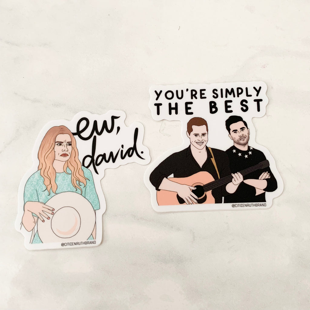 Schitt's Creek Sticker