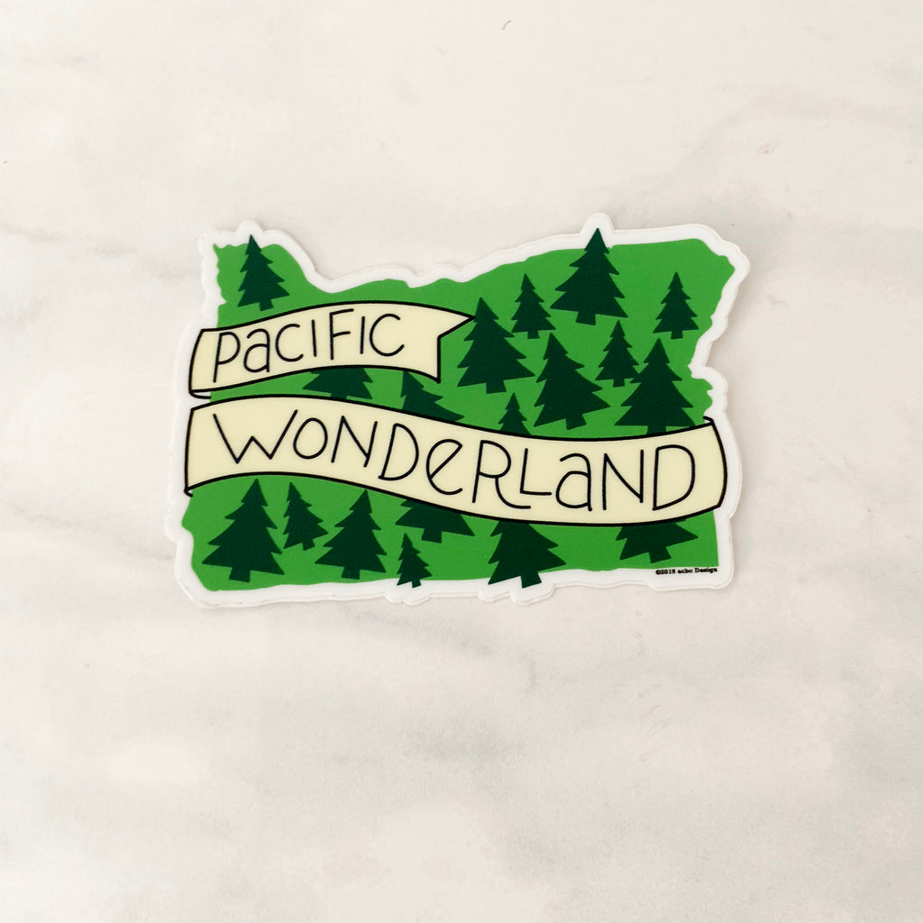 Pacific Wonderland Sticker