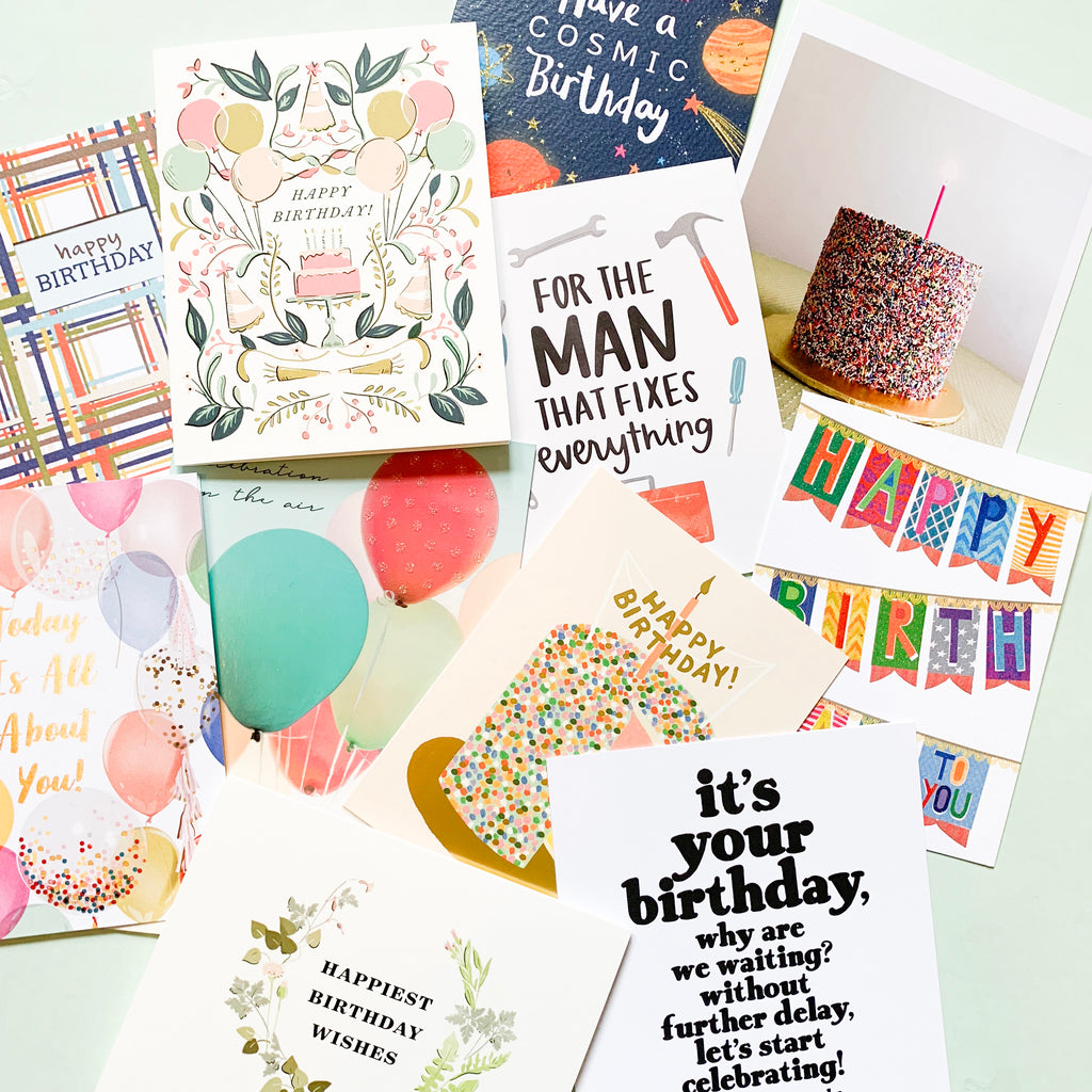 Bakers Dozen Card Pack - Birthday