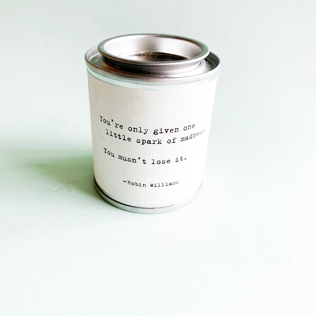 Little Spark Mini Tin Candle