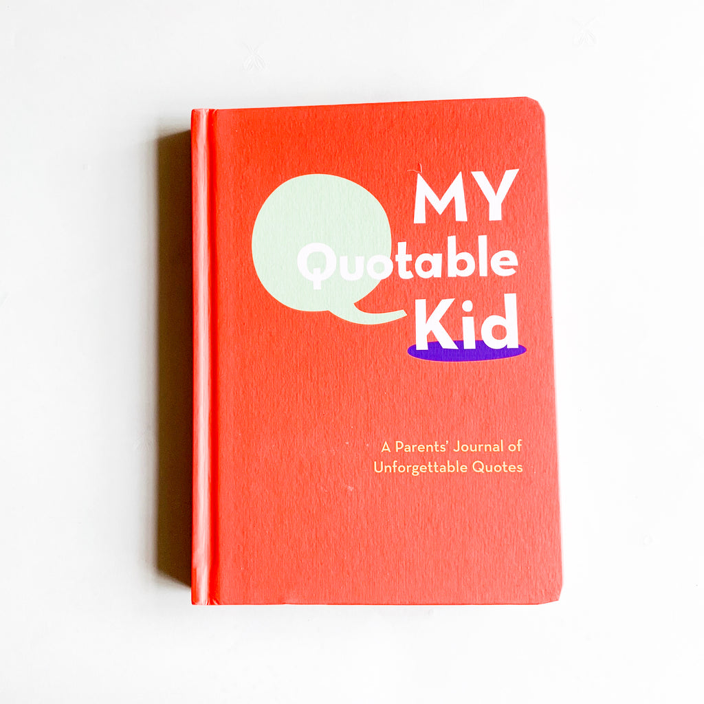 My Quotable Kid - Book