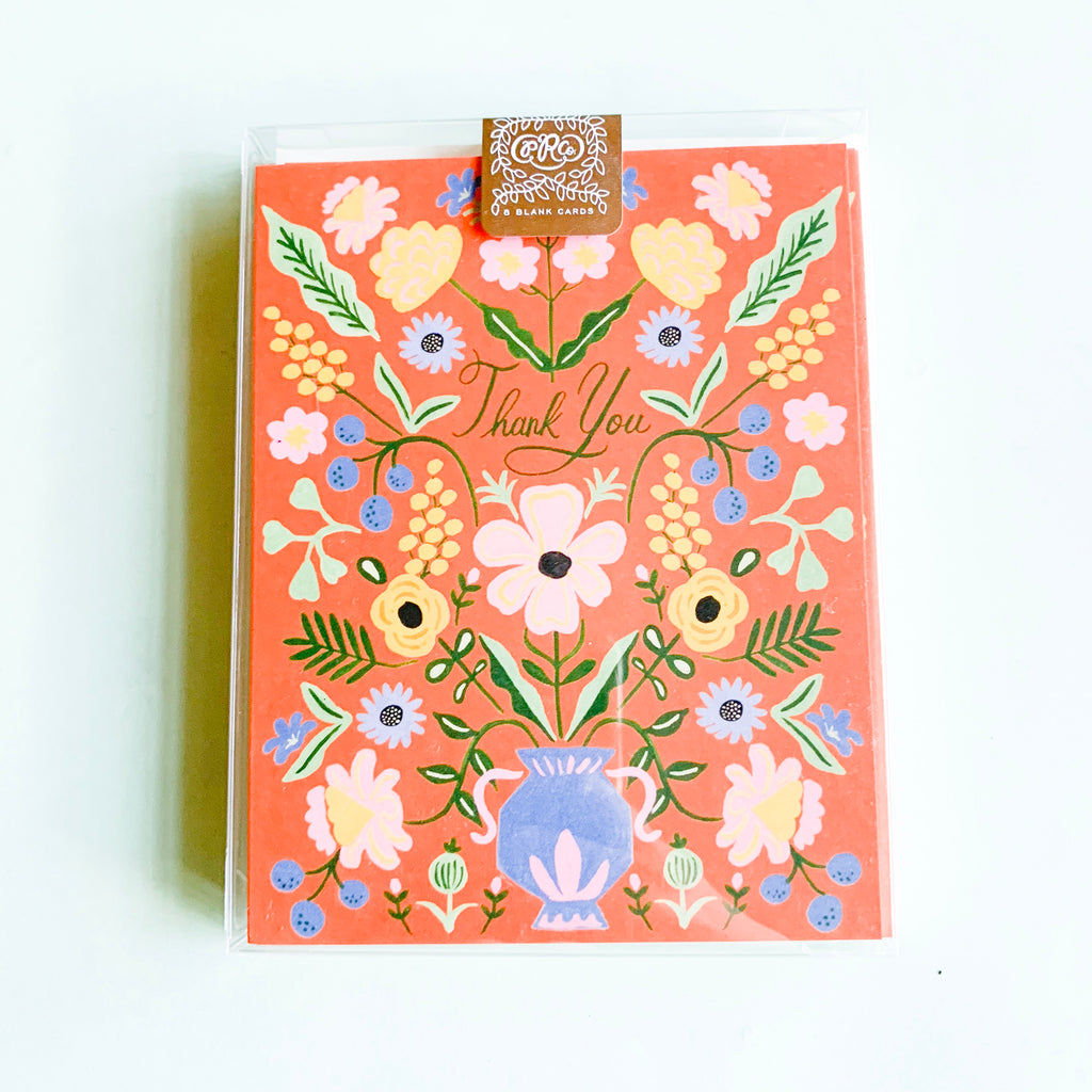 Rifle Paper Gabriella Boxed Notecards Set of 8