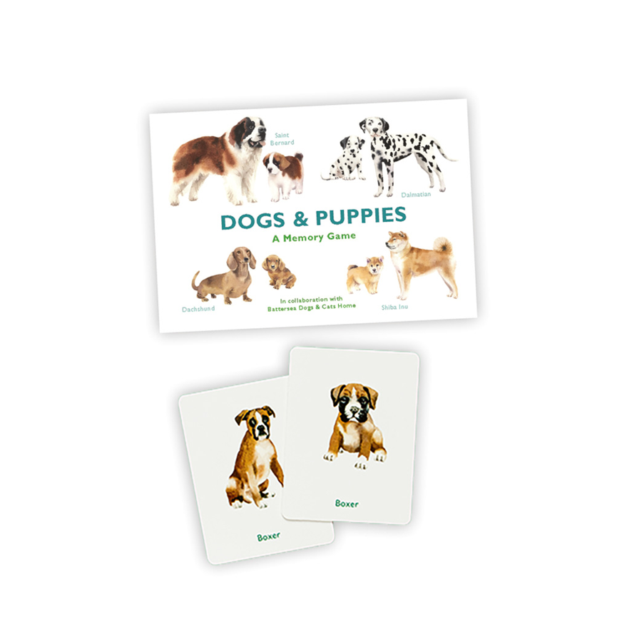 Dogs and Puppies Matching Game
