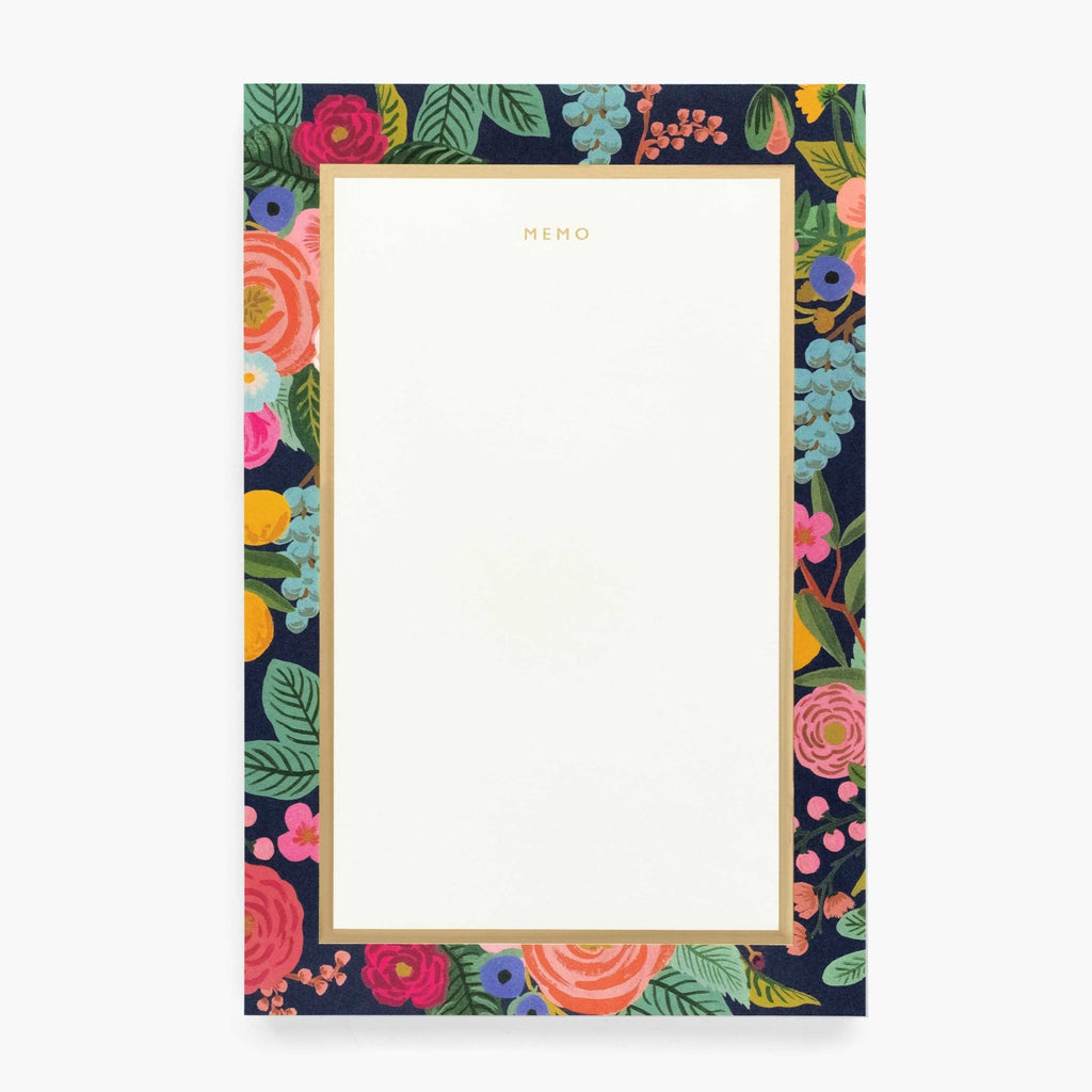 Large Memo Pad - Garden Party