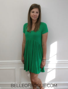 Sandy Dress in Kelley Green