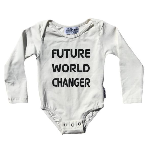 Tully and the Chief  - Long Sleeved Bodysuit - Future World Changer
