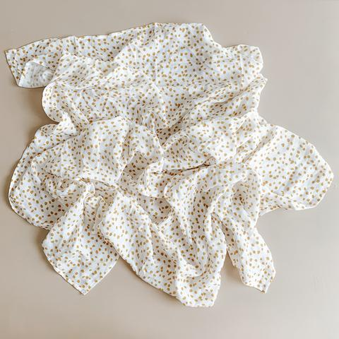 Two Darlings Palms Bamboo Swaddle