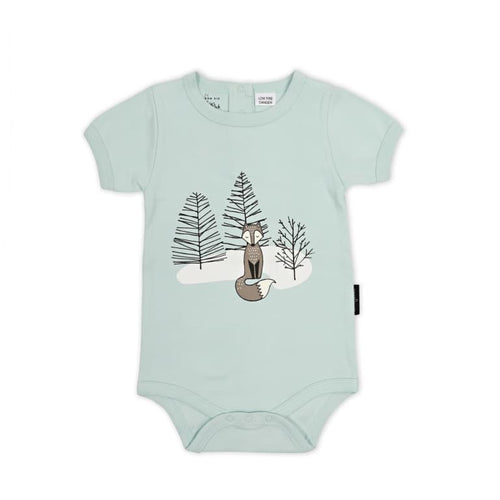Woodland Fox Print Onesie